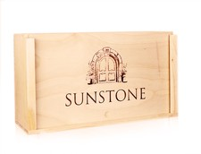 Logo Wood Box (2 bottle)