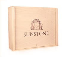 Logo Wood Box (3 bottle)